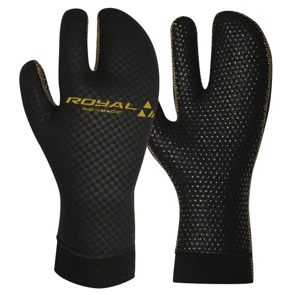 Royal Hybrid Mitten Glove